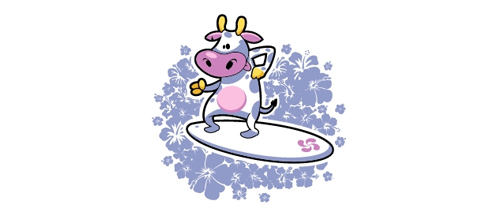 19-Surfingcow